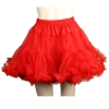 Layered Tulle Petticoat Red Adult
